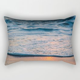 Foam and Reflections Rectangular Pillow