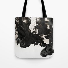 Ink #abstract #black Tote Bag