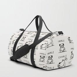 Inhale Exhale Pug Sporttaschen