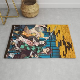 Blade of Demon Destruction Rug