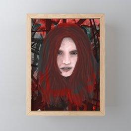 Floating Head 2 Framed Mini Art Print