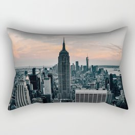 The Empire State Building New York Skyline Rectangular Pillow