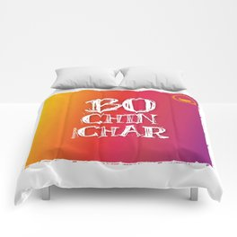 """Bochinchar"" Comforters"