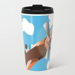 When Pugs Fly Travel Mug