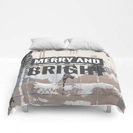 Snowfall - merry and bright Comforters