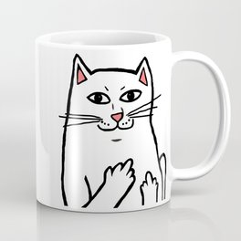 Naughty Cat Coffee Mug