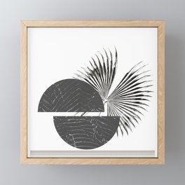 Contrast - Minimalism Mid-Century Modern Forms Framed Mini Art Print
