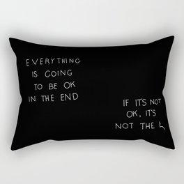 It Is OK Rectangular Pillow
