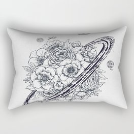 Flowery Planet. Rectangular Pillow