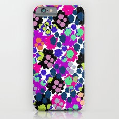 Overlayed blooms iPhone 6s Slim Case