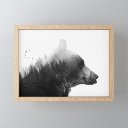 Big Bear Framed Mini Art Print