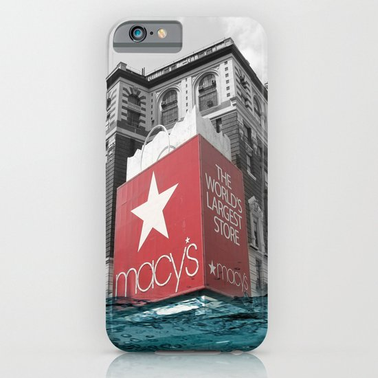Macy's water line iPhone & iPod Case