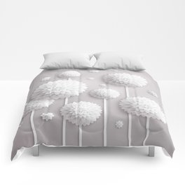 Floral Dimensions Comforters