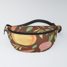 Colorful fruits & vegetable pattern Fanny Pack