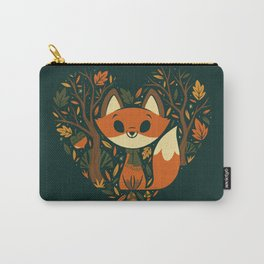 Foxy Heart Carry-All Pouch