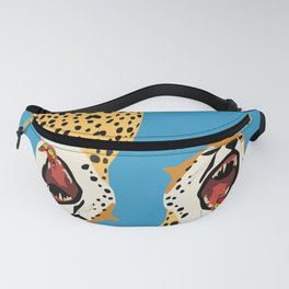 Screaming Cheetah Fanny Pack