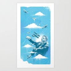 Ciel Symphonie Art Print