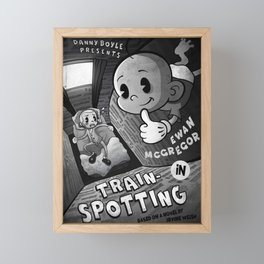 Trainspotting Framed Mini Art Print
