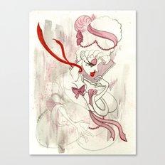 Rose de Charme Canvas Print