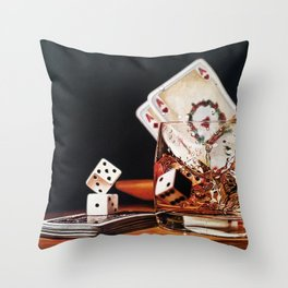 After Hours III Throw Pillow