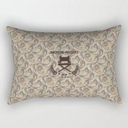 Movie Night Rectangular Pillow