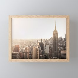 Empire Love Framed Mini Art Print