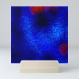 The sky behind the glass 2 Mini Art Print