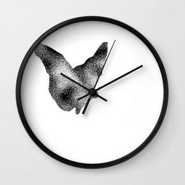 Butterfly Ripple Wall Clock