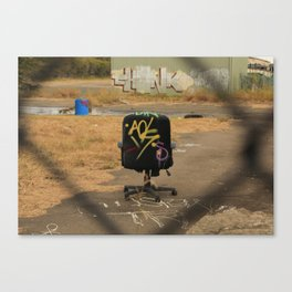 This is no office Canvas Print