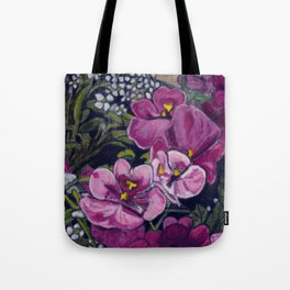 Garden Flowers Tote Bag