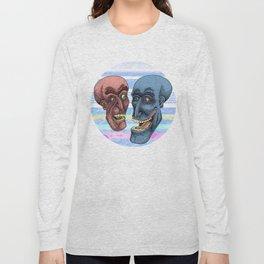 Martian Brawlers  Long Sleeve T-shirt