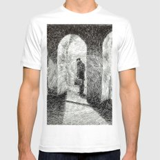 Fingerprint - Arcades Mens Fitted Tee White MEDIUM