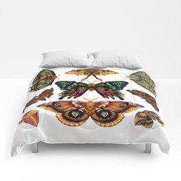 Moth Wings III Comforters