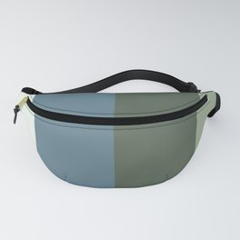 Parable to Behr Blueprint Color of the Year and Accent Colors Vertical Stripes 4 Fanny Pack