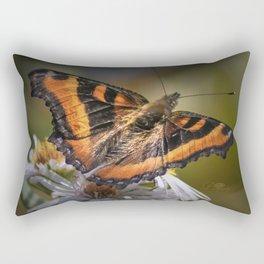 Painted Lady Rectangular Pillow