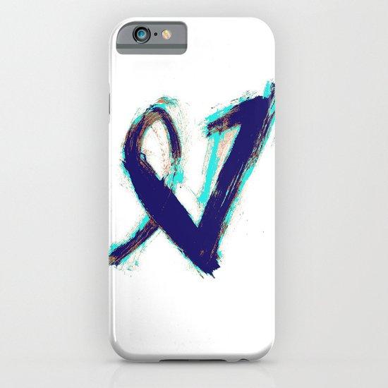 Paintbrush Heart iPhone & iPod Case