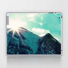 Mountain Starburst Laptop & iPad Skin