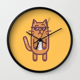 CoolCat! Wall Clock