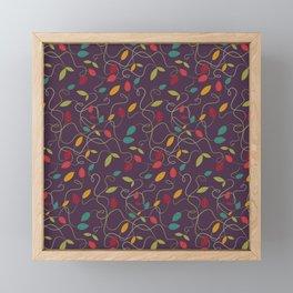 Autumn's bash Framed Mini Art Print