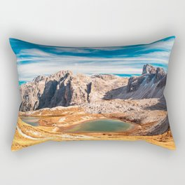 Autumn trekking in the alpine Pusteria valley Rectangular Pillow