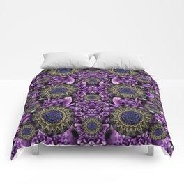 Flowers from paradise in fantasy elegante Comforters