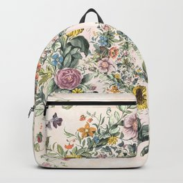 Circle of life- floral Backpack
