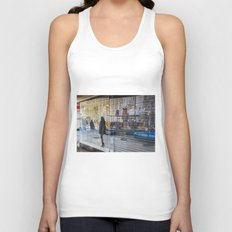 Walk on By Unisex Tank Top