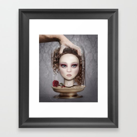 Glasshouse I Framed Art Print