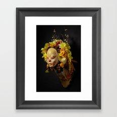 Golden Harvest Muertita Framed Art Print