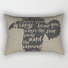 May The Winds Rectangular Pillow