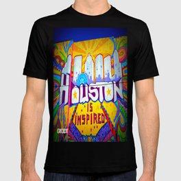 Houston is Inspired T-shirt