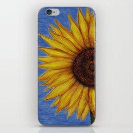 Sunflower by Lars Furtwaengler | Ink Pen | 2011 iPhone Skin
