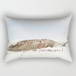 Lonely mountain Rectangular Pillow