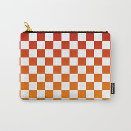 Chessboard Gradient Carry-All Pouch